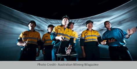 Virtual Reality for Mining Photo