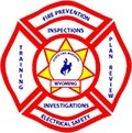 Wyoming Fire Logo