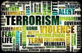 Terrorism Word Collage