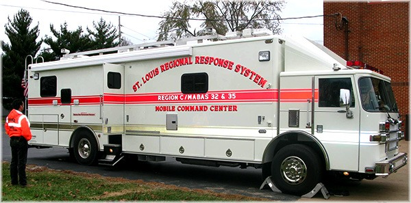 EM50 communications vehicle, st. louis command center, region c/mabas 32 & 35