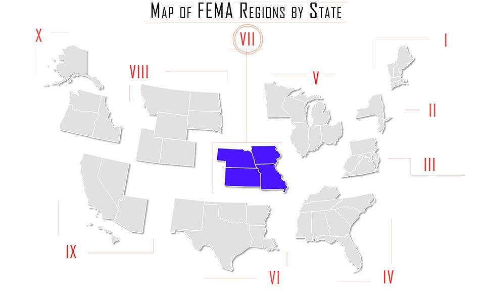 At The Region Fema Region Vii Ems Iowa Kansas Missouri Nebraska