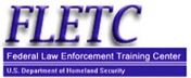 Federal Law Enforcement Training Centers (FLETC), free courses logo label badge