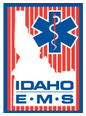 Idaho ID EMS Emergency Medical Services badge