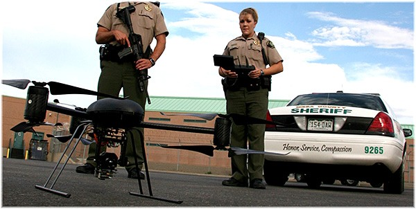 Mesa County Colorado Sheriffs with UAV
