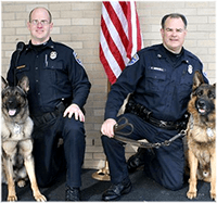 Rochester Police Department, NY, New York, with Canines, K9