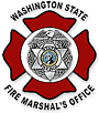 Washington WA State office of the fire marshal logo seal