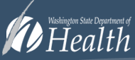 Washington WA State Department of Health badge