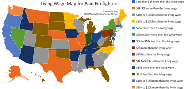 Paid Firefighters: Are You Being Paid a Living Wage? | At