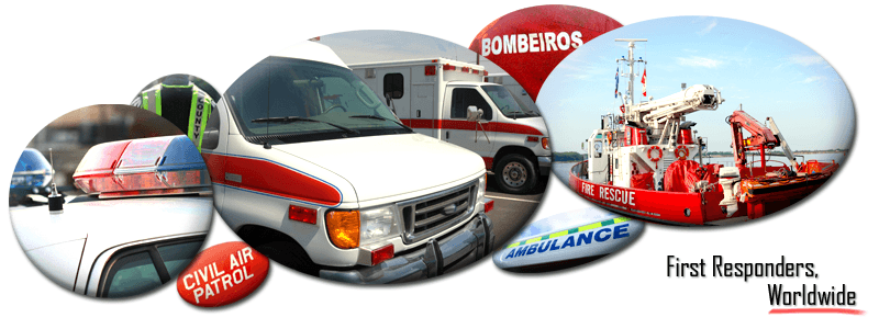 first responders, police, fire departments, EMS, emergency management